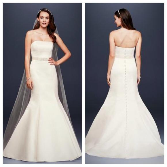 1eee0396eb97 David's Bridal Dresses | Elegant And Simple Wedding Dress | Poshmark